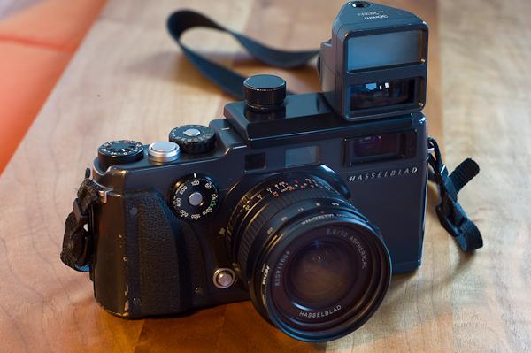 XPAN with external viewfinder